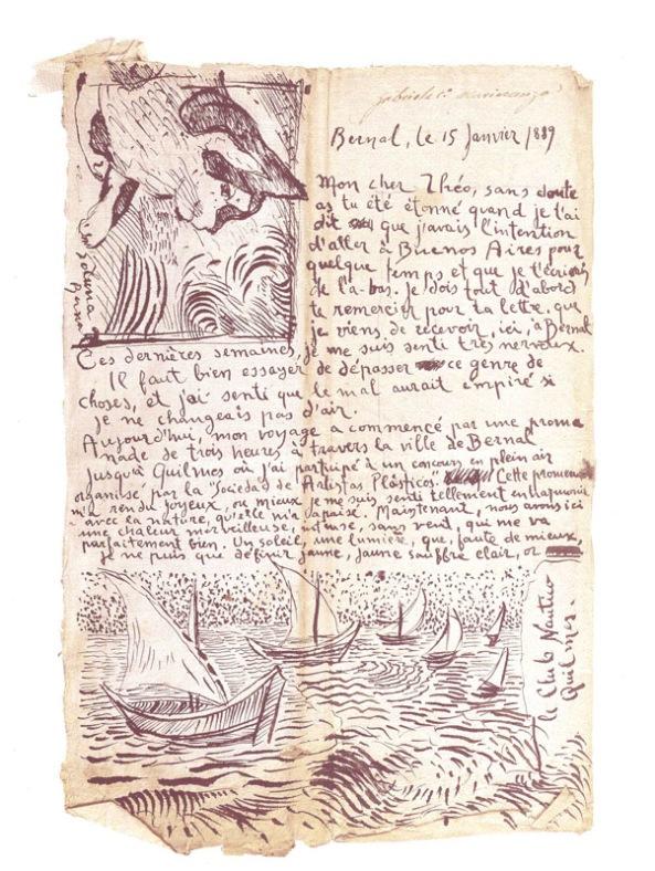 Julio Paz - Falsa lettera di Vincent a Theo (1di2)