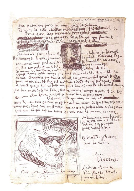 Julio Paz - Falsa lettera di Vincent a Theo (2di2)
