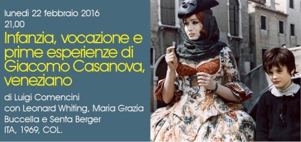 CINEMA PAZ Il tocco lieve della seduzione SINGOLI FILM6 Giacomo Casanova